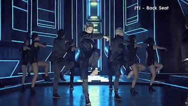 Watch the official music video for K-Pop group JYJ's 'Back Seat.'