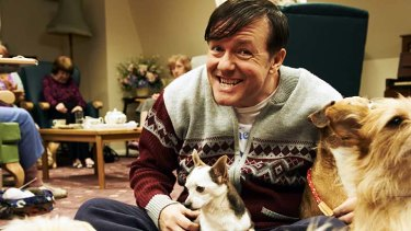 Stage and screen: Ricky Gervais' latest creation, Derek.