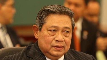 lndonesian President Susilo Bambang Yudhoyono.