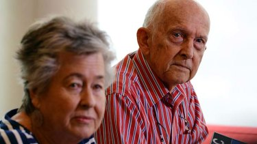 ''Nightmarish'' ordeal: Lois and Juris Geste say they have passed their breaking point.
