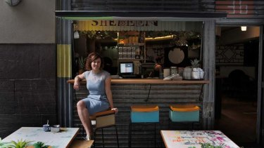 Emily Sexton admires the creative spaces of the Shebeen bar in Manchester Lane.