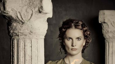 Jolene Anderson, of All Saints and Rush fame, stars in the role of Hypatia.