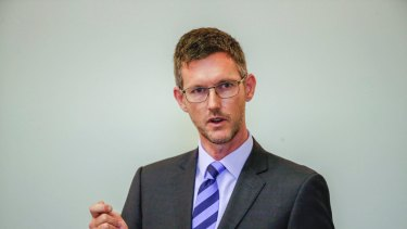 A report into Minister Mark Bailey's emails was handed to the CCC.