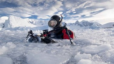 Gathering evidence: Scientists have been measuring the effects of climate change on the Antarctic.