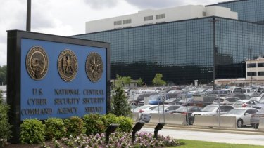 The US National Security Agency campus in Fort Meade, Maryland.