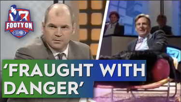 Shane Crawford and Sam Newman discuss Sam Newman's great relationship with Jason 'The Chief' Dunstall