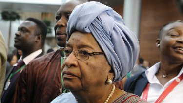 Liberian President Ellen Johnson Sirleaf has exercised powers under a state of emergency announced in August to suspend the nationwide elections.