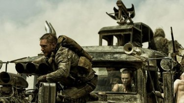 The last great action movie: Tom Hardy as Max Rockatansky and Charlize Theron as Imperator Furiosa in <i>Mad Max: Fury Road</i>.