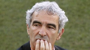 Lost the dressing room ... Raymond Domenech