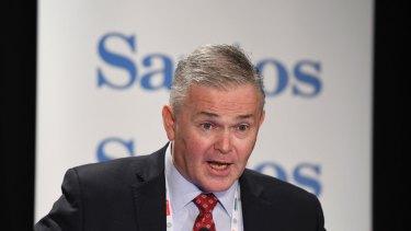 """Santos CEO Kevin Gallagher has described the find as """"fantastic""""."""