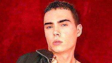 Accused of killing his boyfriend ... Luka Rocco Magnotta.