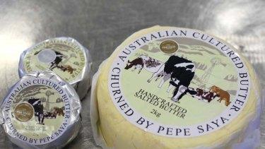 Pepe Saya cultured butter.