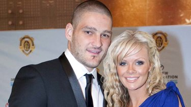 """Turned a blind eye . . . Brendan Fevola's former wife blames the AFL cuture for creating a """"monster""""."""