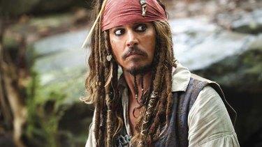Fashion fail ... wearing a waistcoat won't make you look like Johnny Depp.
