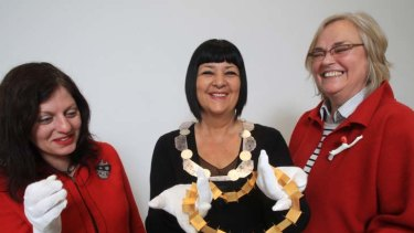 Alberta Vita, (left) with Teresa Lane and Elfrun Lach.