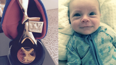 The morning after her Gold Logie win, Carrie Bickmore shared pictures of her two proudest achievements this year.