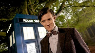 "The ""baby doctor"" ... Matt Smith as Doctor Who."