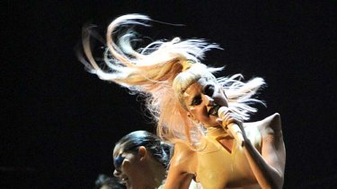 Lady Gaga ... 2010's most downloaded artist.