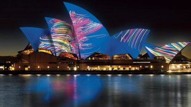 Hundreds of thousands of people are expected at Vivid Sydney.