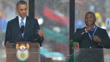 All Signs Suggest Obama S Interpreter For The Deaf Was Fake