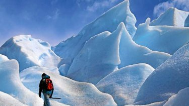Globally, glaciers are shrinking in one signal of a warming planet.