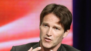 """Like violent dinner theatre"" ... Stephen Moyer thrilled by England's recent riots."