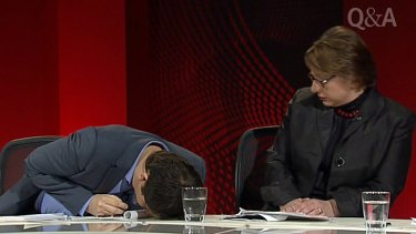 Looking on ... Sophie Mirabella has been criticised for her lack of response.