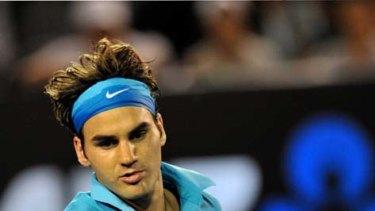 The wise master ... Roger Federer.