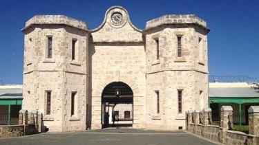 The iconic facade of the main prison complex.