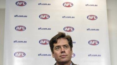 AFL chief Gillon McLachlan.