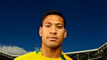 "Israel Folau says gay people are going to ""hell"" unless they repent for their ""sins""."