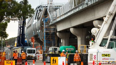 The new Noble Park station will be part of the sky rail overpass.