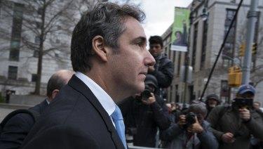 Michael Cohen, President Donald Trump's personal attorney .
