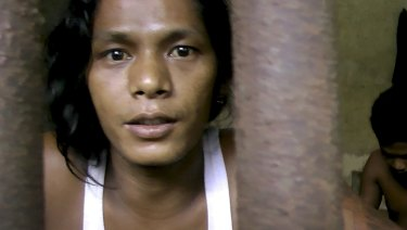Kyaw Naing, a migrant fisherman from Myanmar, who was enslaved in the Indonesian seafood industry.