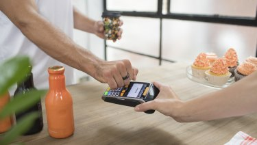 Bankwest's Halo ring is essentially a Mastercard, but in a more convenient shape.