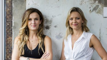 Lauren Emerson (left) and Genevieve Hewson are the founders of Walter G.