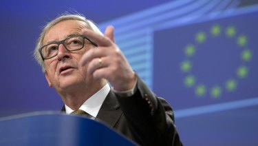 European Commission President Jean-Claude Juncker has threatened retaliatory measures on iconic US products.