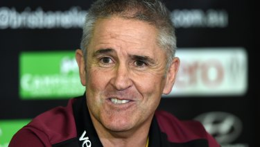 Chris Fagan helms the Brisbane Lions and is the oldest coach in the competition.