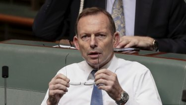 Former prime minister Tony Abbott has called for Australia to pull out of the Paris climate agreement.