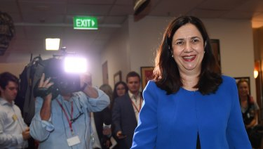 Premier Annastacia Palaszczuk has written to the Prime Minister to veto the NAIF loan for Adani's rail line.