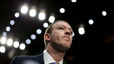 Facebook chief Mark Zuckerberg was grilled by US Congress last week.