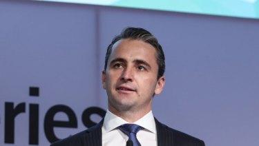 Matt Comyn recently visited Scandinavia, where banking execs were surprised at Australia's reliance on cash.