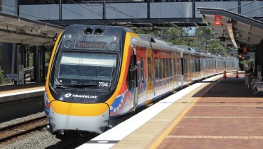 Commuters say the airconditioning in Queensland's new trains leaves the carriages 'hot and humid'.