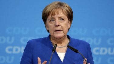 Forget migration, Angela MErkel's biggest threat is Germany's stuttering economy.