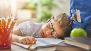 Tired children find it harder to concentrate and behave.
