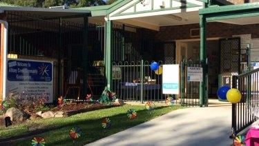 Albany Creek Community Kindergarten, on Ernie Street.