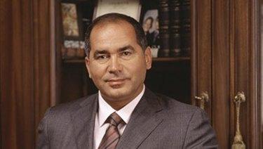 Russian billionaire Farkhad Akhmedov .