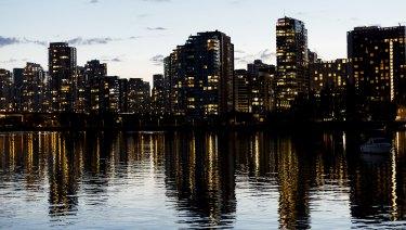 Apartments in Vancouver, British Columbia, Canada,