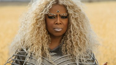 Oprah as Mrs Which in A Wrinkle in Time.