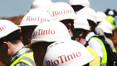 Rio Tinto faces a shareholder resolution on its business group memberships.